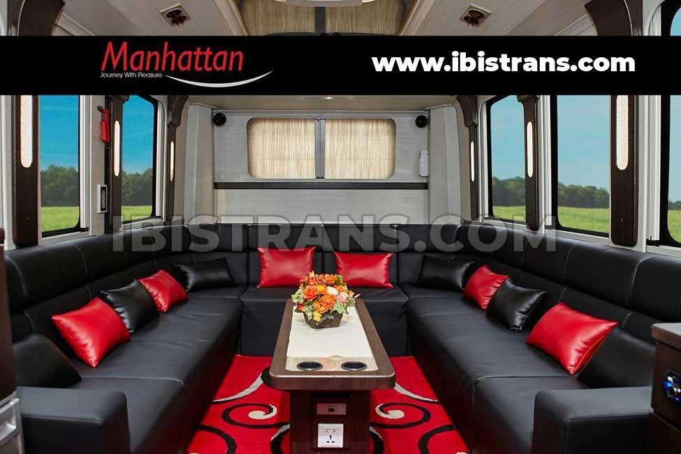 bus pariwisata manhattan luxury bus
