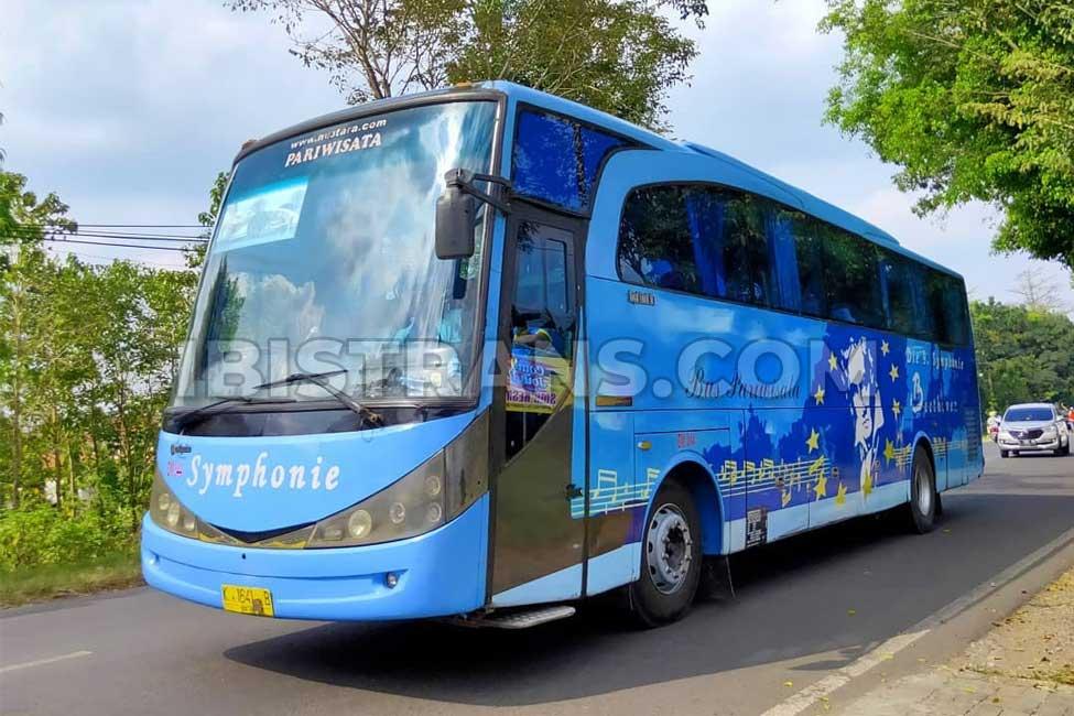 ibistrans harga bus pariwisata symphonie