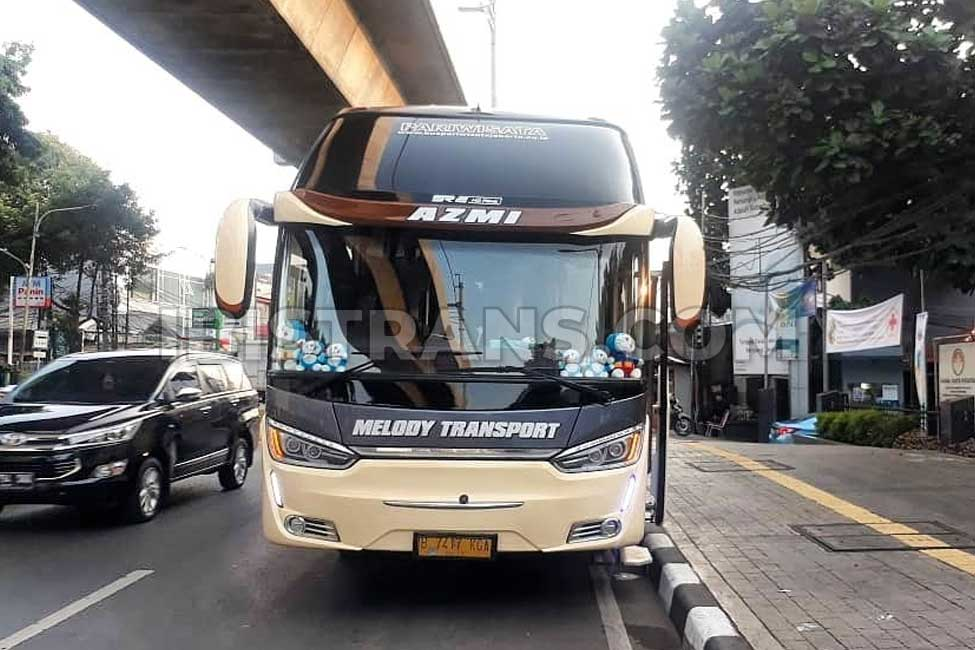 ibistrans.com bus pariwisata jakarta Melody Transport