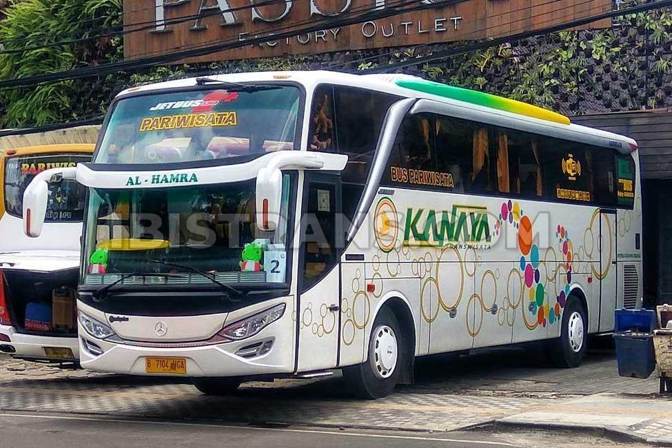 ibistrans.com bus pariwisata jakarta kanaya transport HDD 59 seat