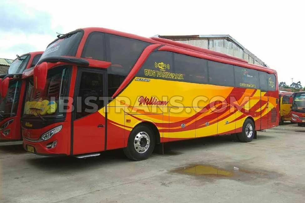 ibistrans.com bus pariwisata jakarta william