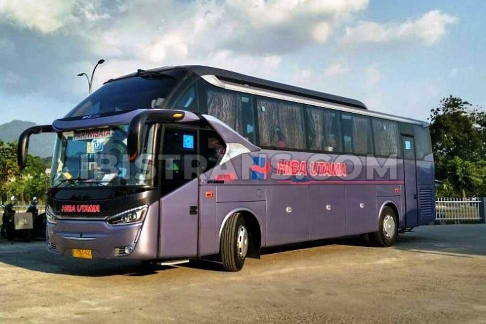 ibistrans.com foto bus pariwisata hiba utama