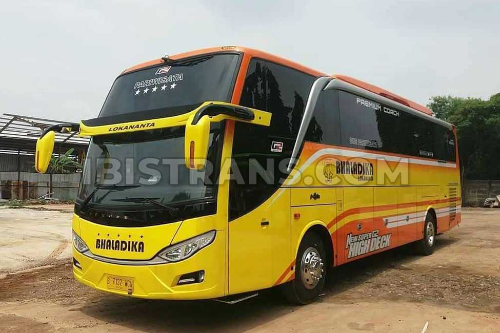 ibistrans.com foto bus pariwisata jakarta Bhaladika