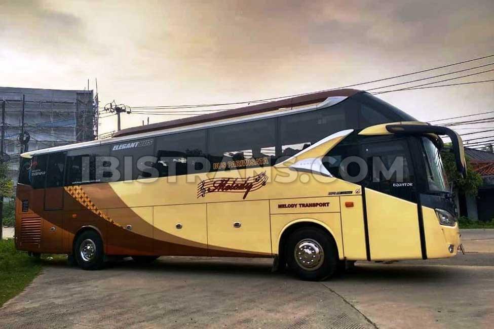 ibistrans.com foto bus pariwisata melody transport HDD