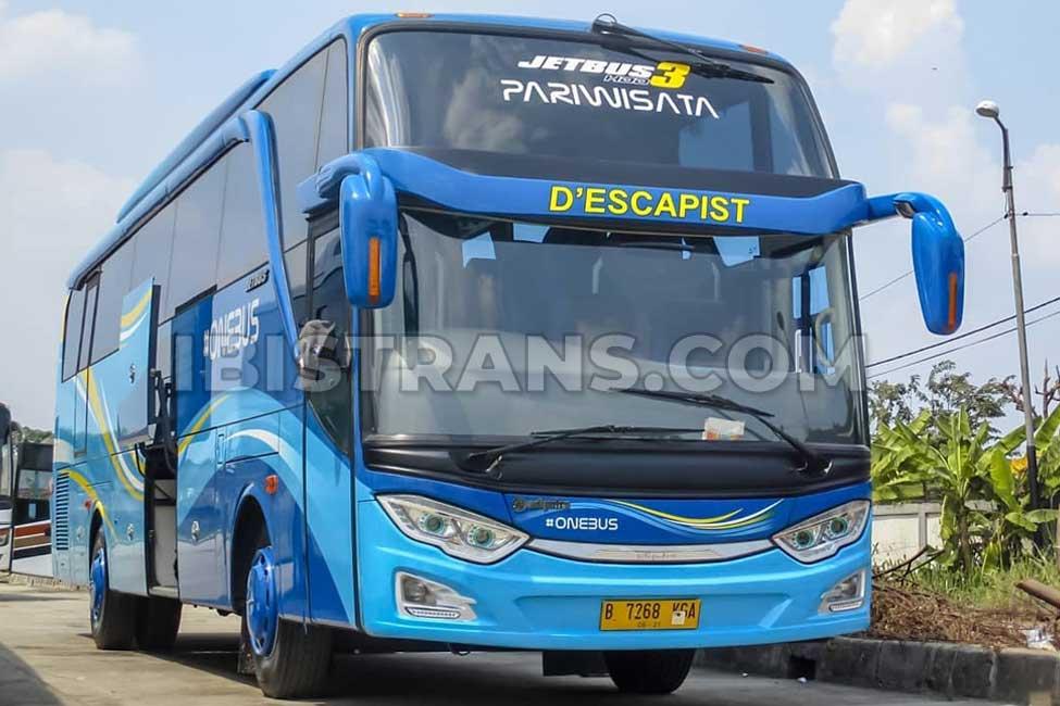 ibistrans.com foto harga bus pariwisata one bus HDD