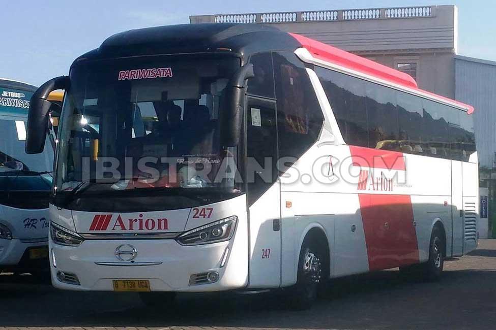 ibistrans.com foto po bus pariwisata Arion