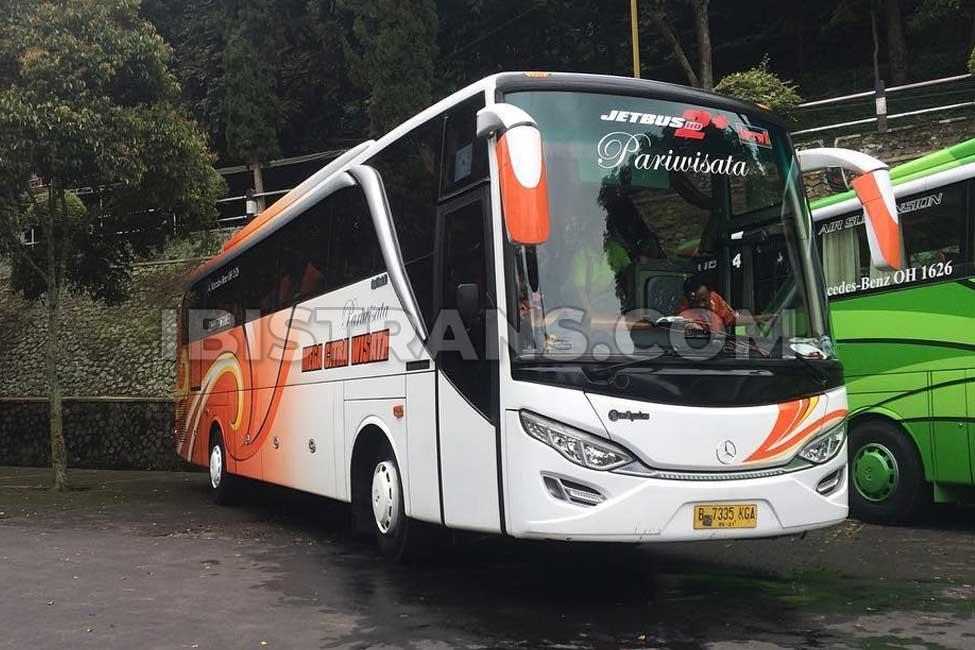 ibistrans.com foto sewa bus pariwisata mega citra wisata 59 seat