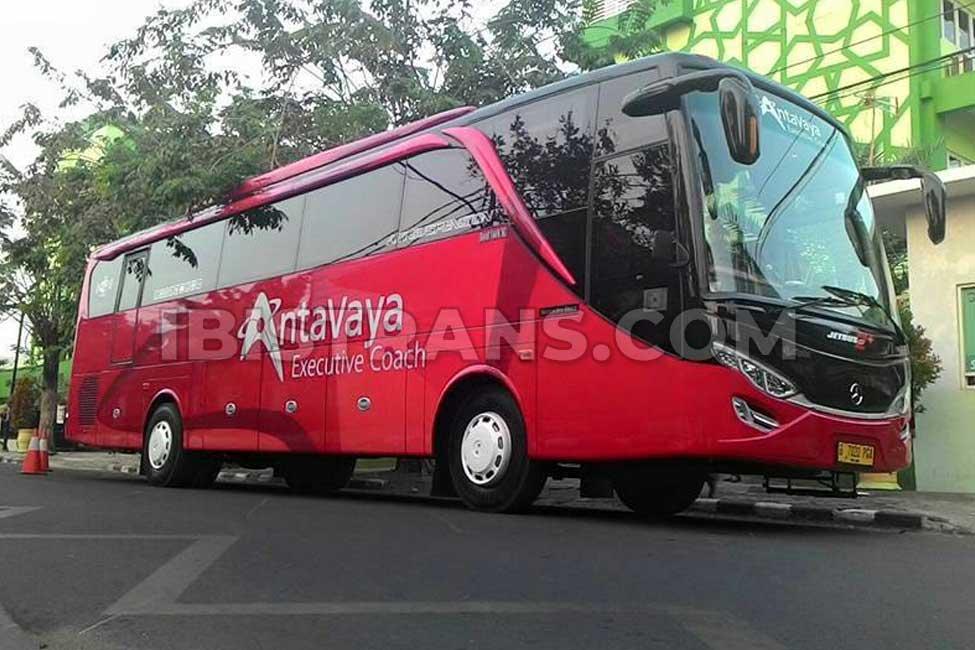 Informasi layanan sewa bus pariwisata