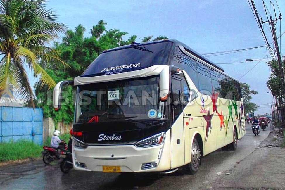 Sewa Bus Pariwisata Starbus Harga Murah Fasilitas Lengkap