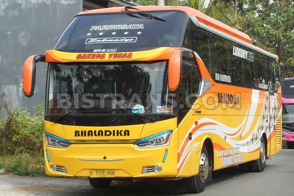 ibistrans.com harga bus pariwisata Bhaladika