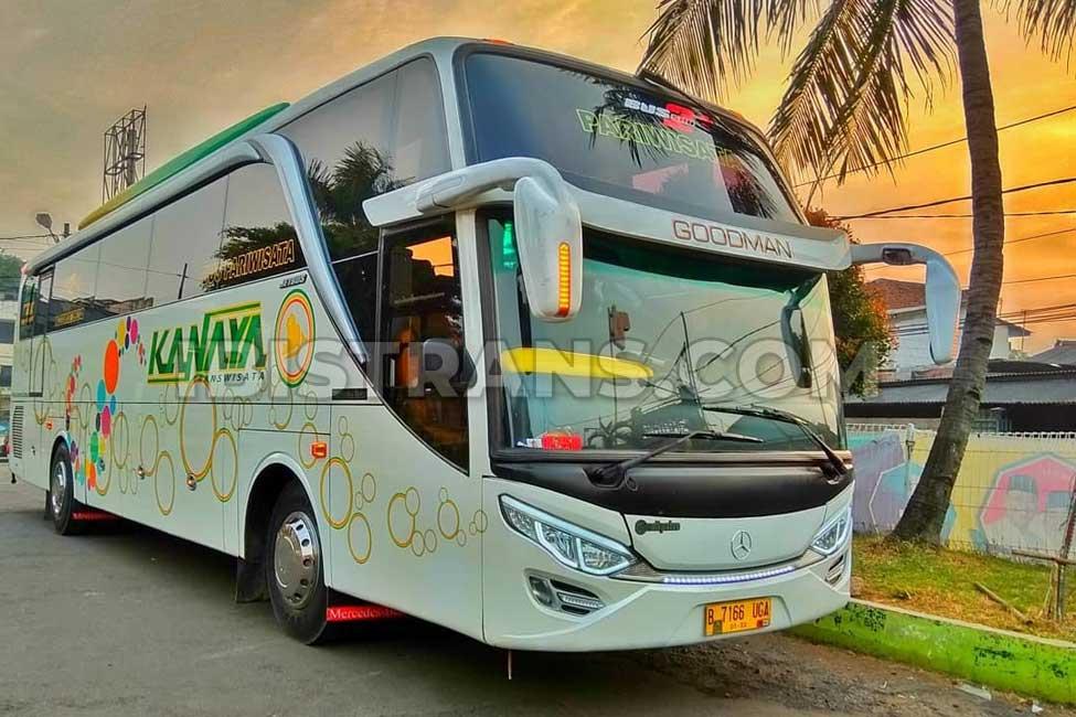 ibistrans.com harga bus pariwisata kanaya transport