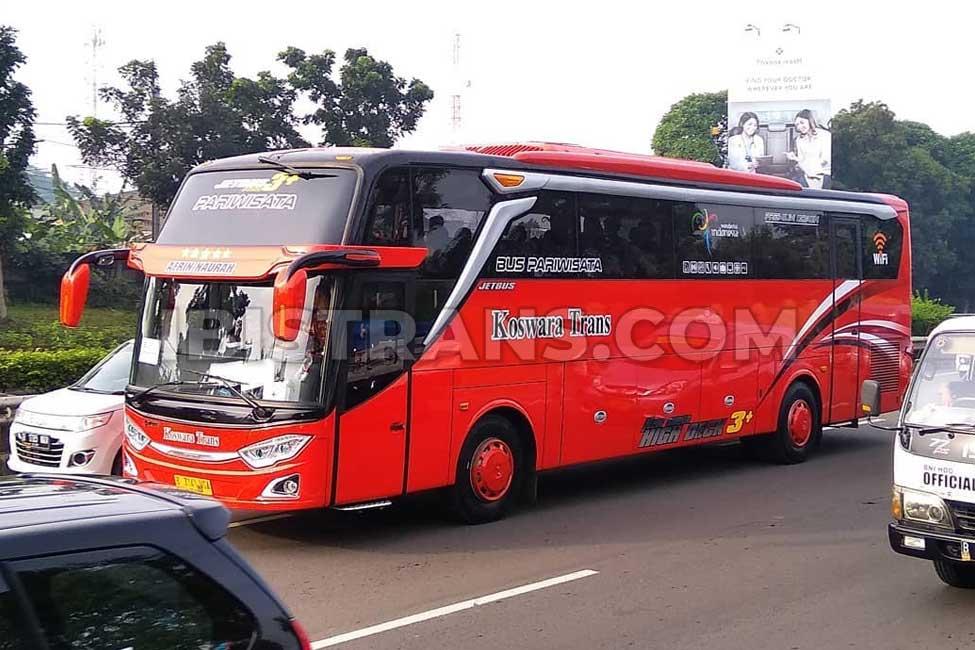 ibistrans.com harga bus pariwisata koswara trans