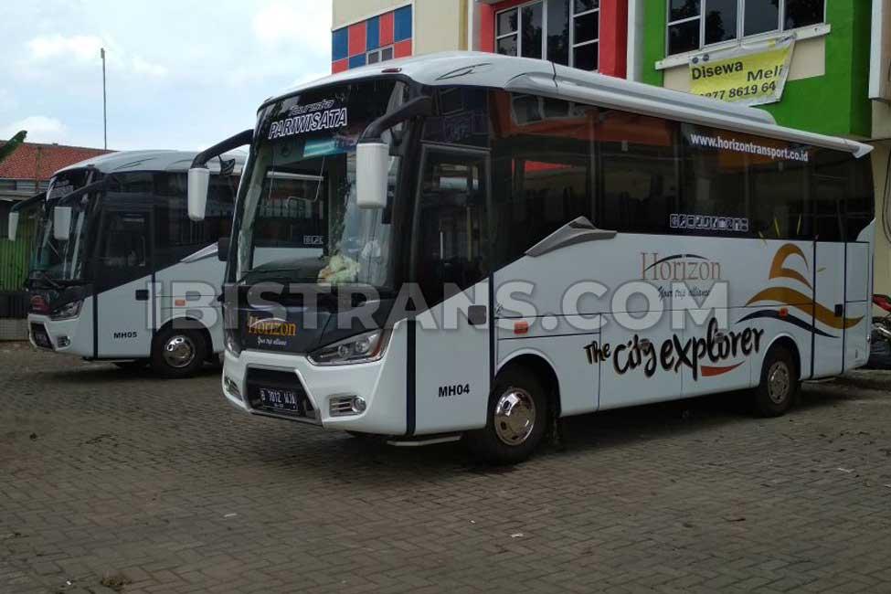 ibistrans.com harga bus pariwisata medium horizon transport