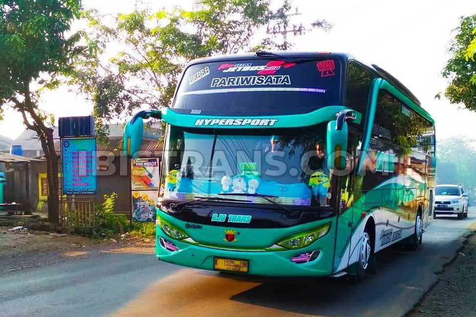 ibistrans.com harga sewa bus pariwisata RJB Trans