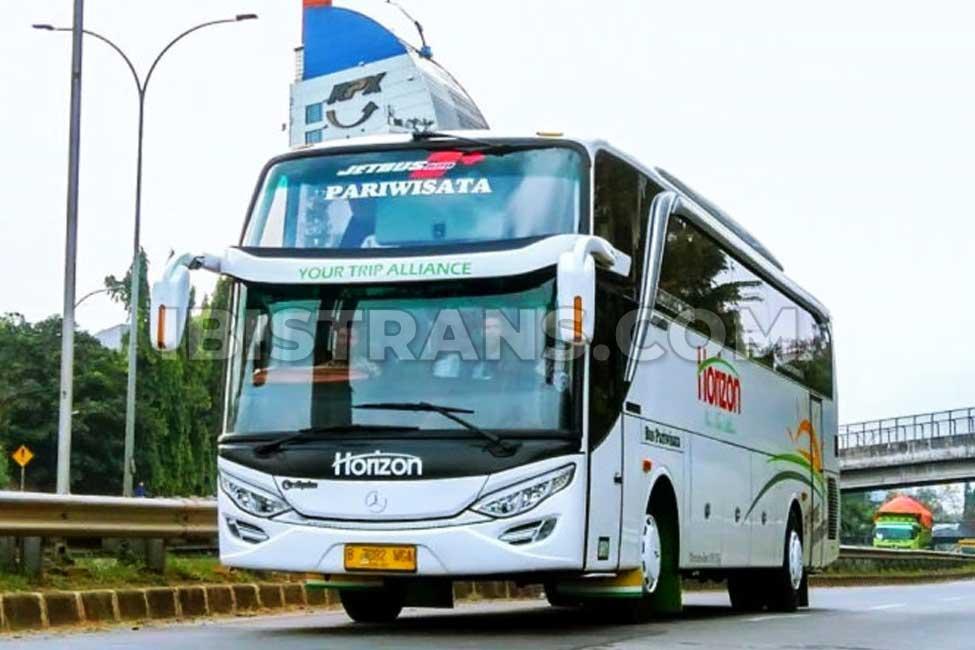 ibistrans.com harga sewa bus pariwisata horizon transport HDD