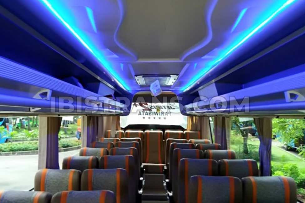 ibistrans.com interior sewa bus pariwisata putra tidar