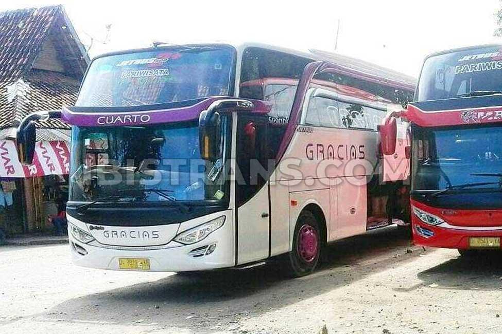 ibistrans.com po bus pariwisata gracias Jakarta