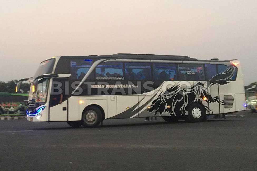 ibistrans.com sewa bus pariwisata midas nusantara HDD