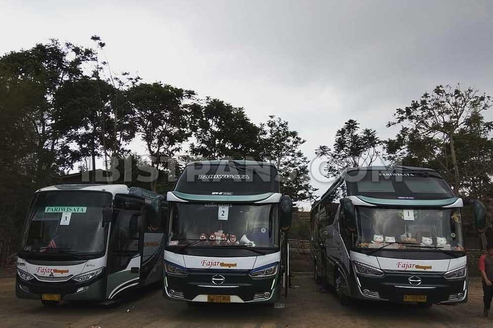 Ibistrans.com foto sewa bus pariwisata Fajar Transport