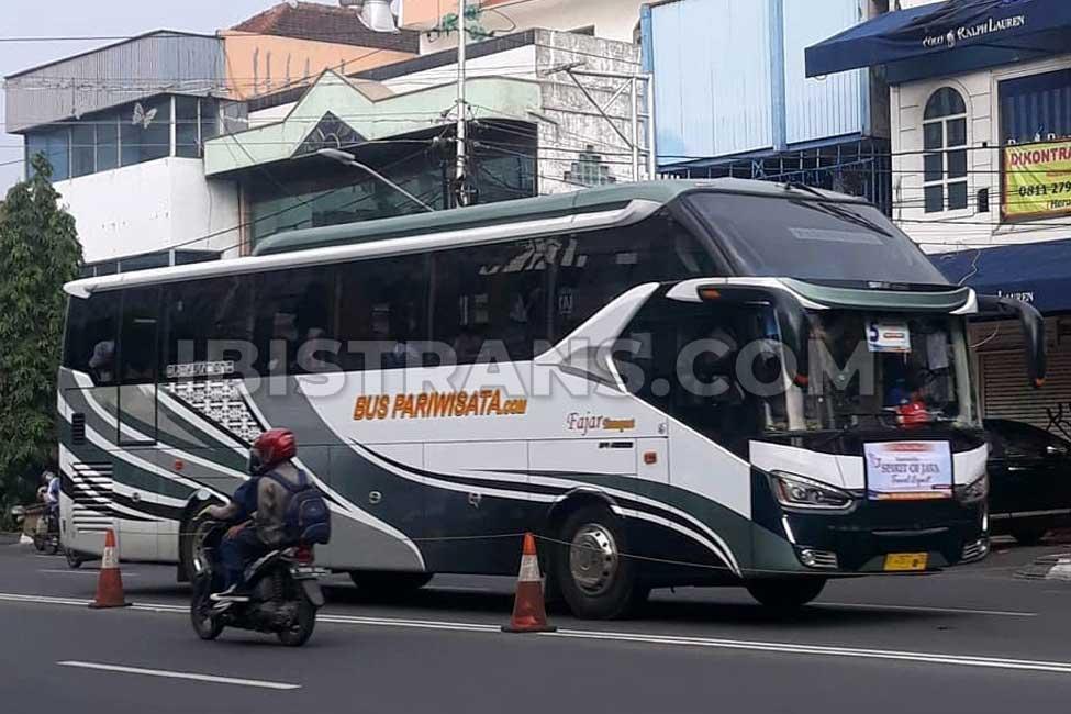 Ibistrans.com harga bus pariwisata Fajar Transport