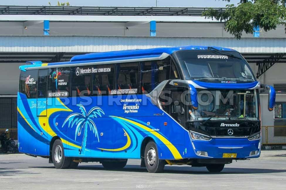 ibistrans.com PO bus pariwisata Jakarta armada jaya perkasa