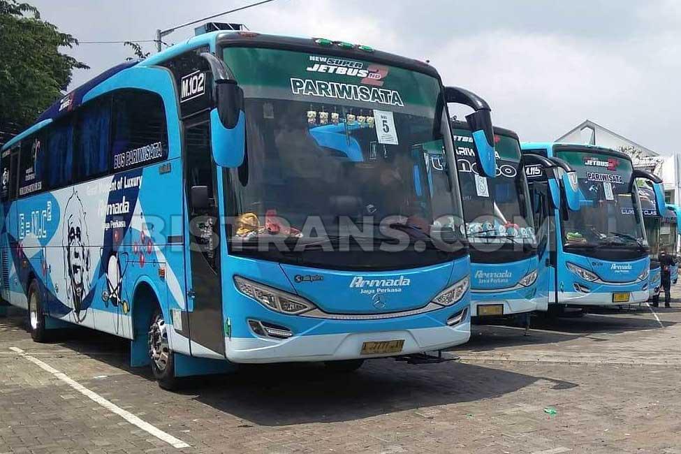 ibistrans.com foto PO bus pariwisata serang AJP
