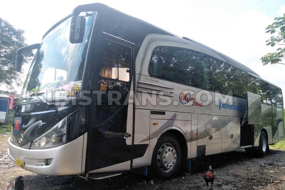 ibistrans.com foto bus pariwisata depok AG Trans 59 seat