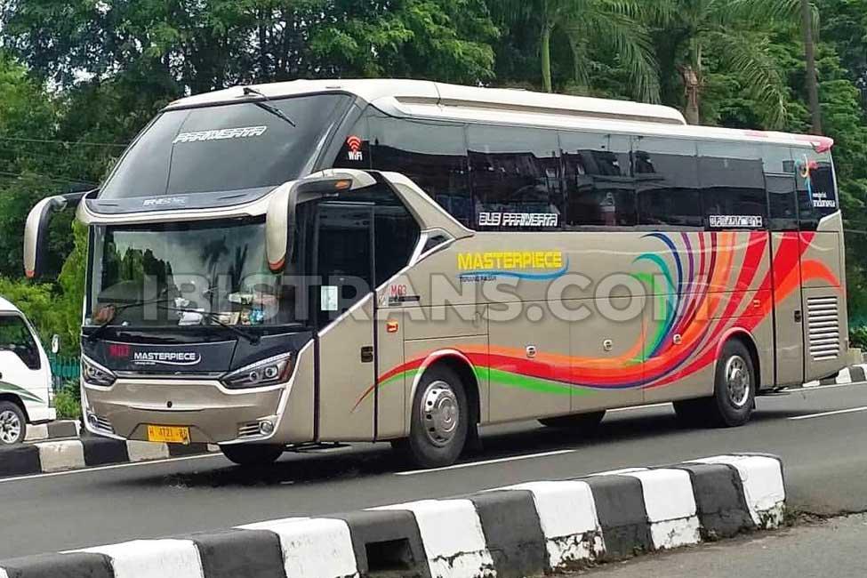 ibistrans.com foto sewa bus pariwisata masterpiece Jakarta