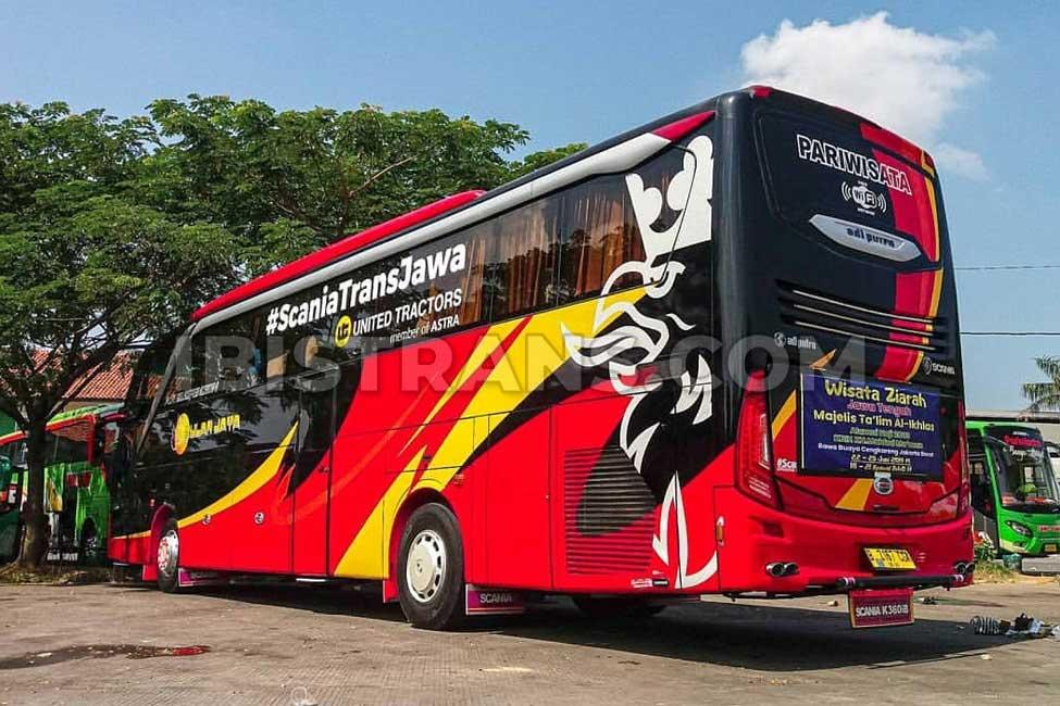 ibistrans.com harga bus pariwisata bulan jaya 59 seat