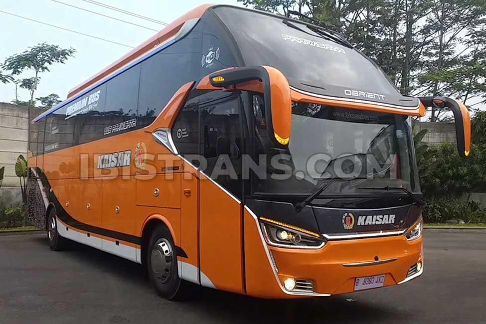 ibistrans.com harga bus pariwisata kaisar XHD