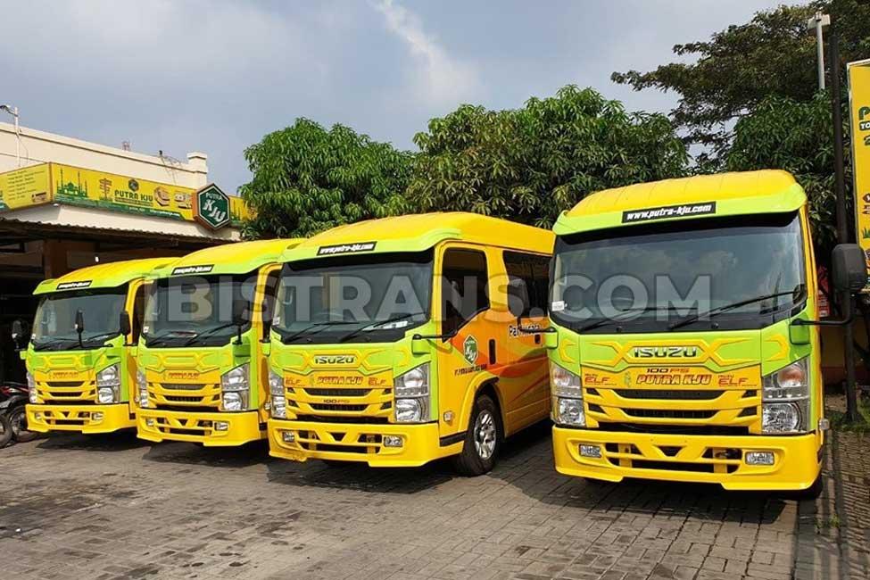 ibistrans.com harga sewa bus pariwisata Putra KJU