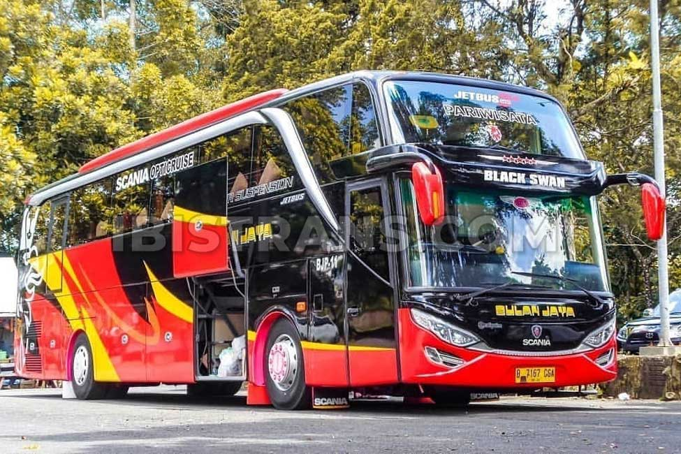ibistrans.com harga sewa bus pariwisata bulan jaya HDD 59 seat