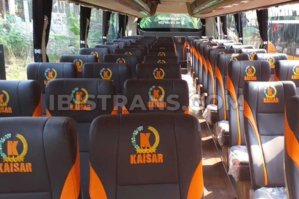 ibistrans.com interior bus pariwisata kaisar 59 seat
