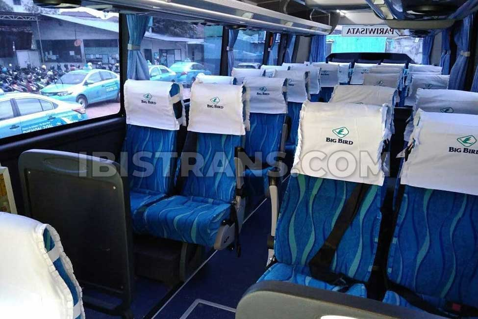 ibistrans.com sewa bus pariwisata big bird foto interior