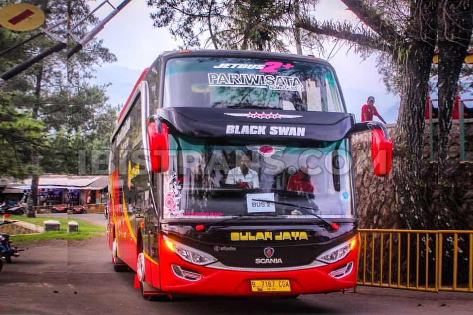 ibistrans.com sewa bus pariwisata bulan jaya scania HDD