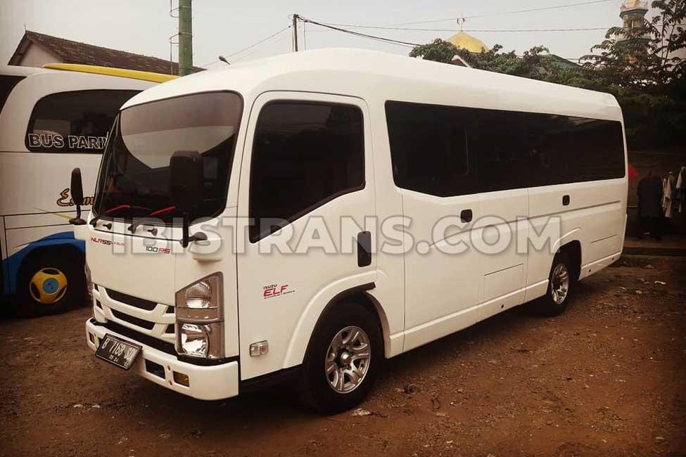 foto Sewa Bus Pariwisata Mangurus Trans elf 19 seat