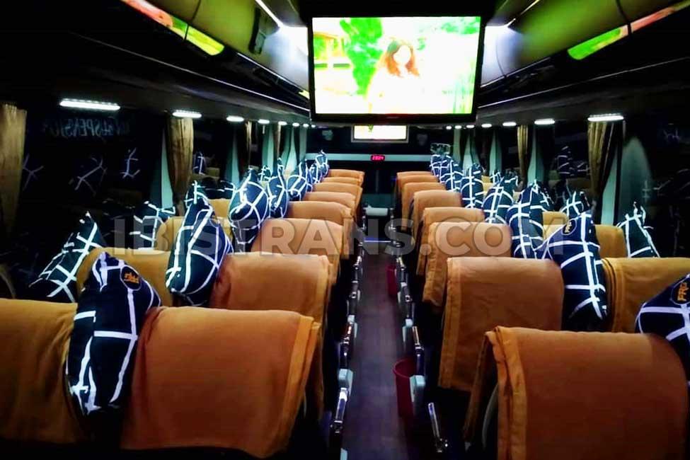 ibistrans.com harga sewa bus pariwisata Rejeki Gemilang