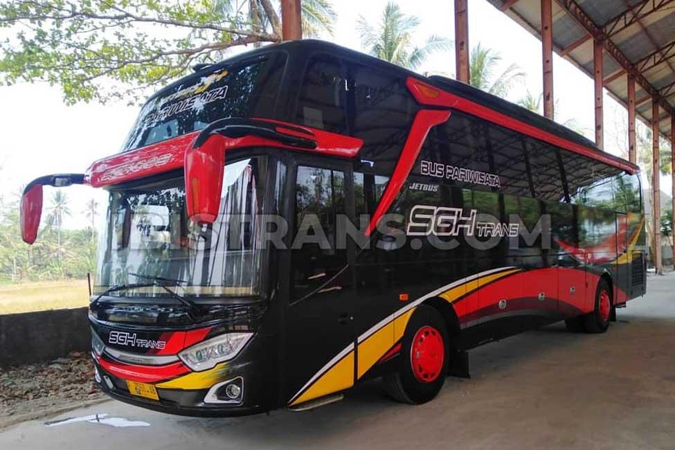 foto Bus Pariwisata SGH Trans