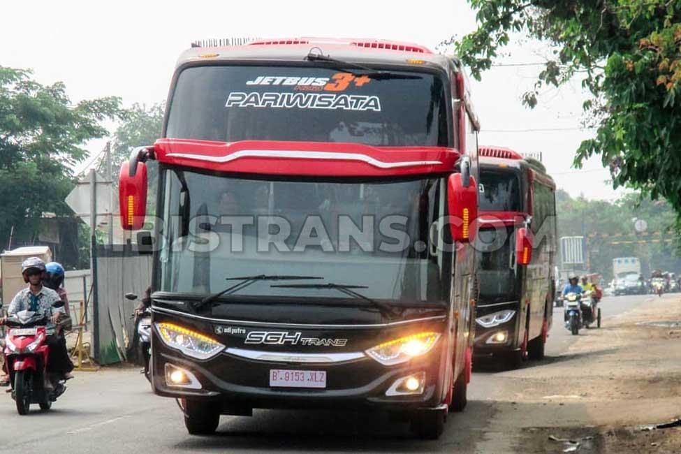 foto bus pariwisata SGH Trans HDD Jetbus3