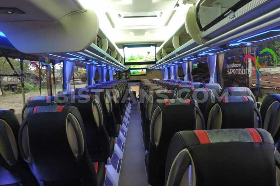 ibistrans.com interior bus pariwisata SGH Trans