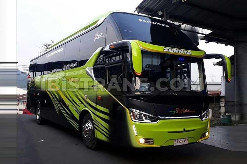 ibistrans.com unit bus shelota terbaru XHD Prime 59 seat