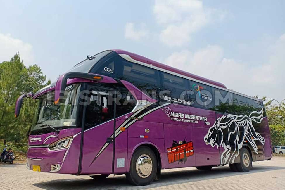 armada big bus 59 seat PO mida Nusantara Terbaru